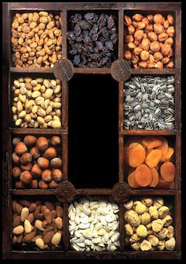 Proveedores de frutos secos. Castañas, pistachos, avellanas, etc