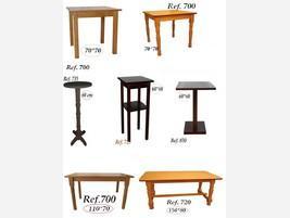 Mesas para hostelería