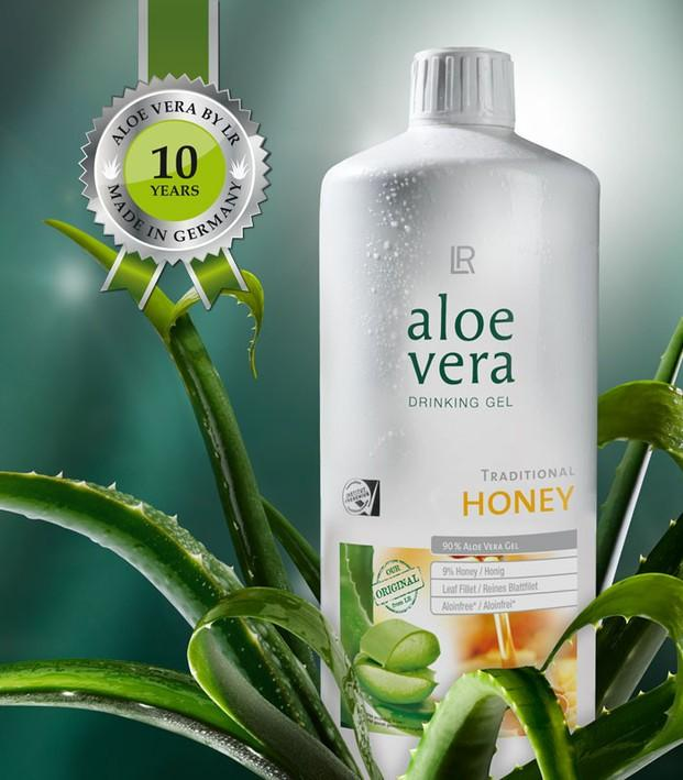Drinking gel. Productos con aloe vera