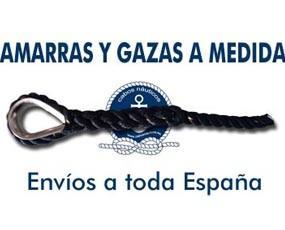 Gazas a medida. Hacemos gazas y amarras a medida