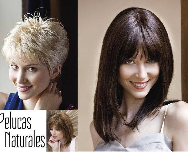 Extensiones y Pelucas.Pelucas hechas de pelo natural