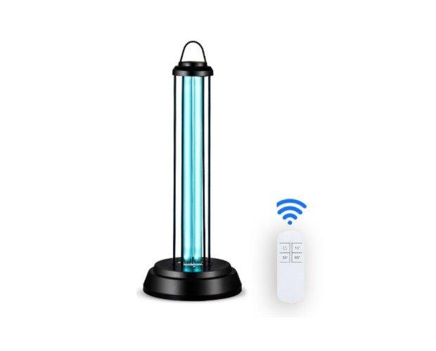 Lámpara de Desinfección. Desinfeta mediante rayos ultravioleta UV-C con ozono