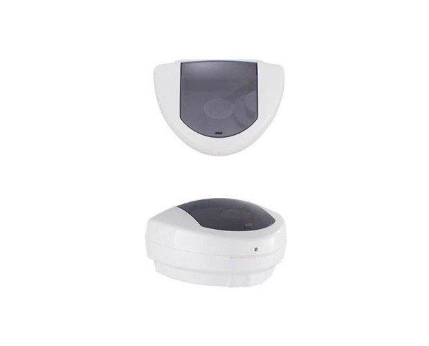 Dispensador de Gel Automático. Con ventana translúcida y tapa abatible para una carga rápida y sencilla