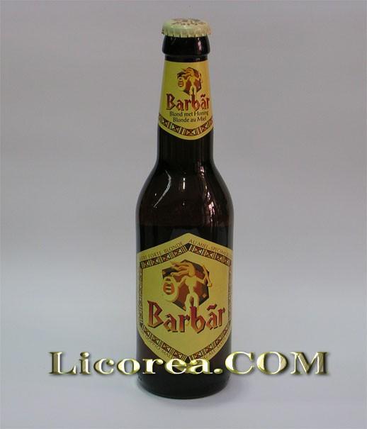 Cerveza de importación. Barbar 33 CL