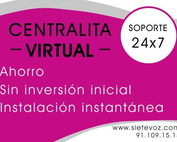 Telefonía IP.Disfruta de una centralita virtual sin mantenimiento