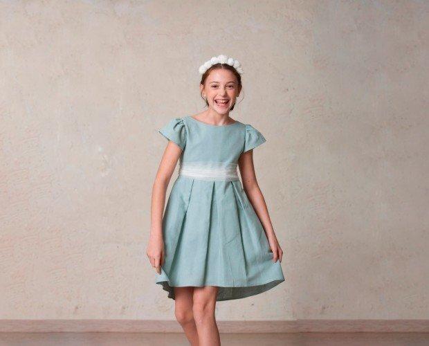 Vestido de comunión. Vestido de comunión Amanda. Los niños de Quémono son niños felices.