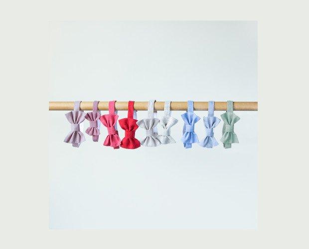 Pajaritas Lino. Elaborada en lino de varios colores, ¡para darle un toque de color al traje!