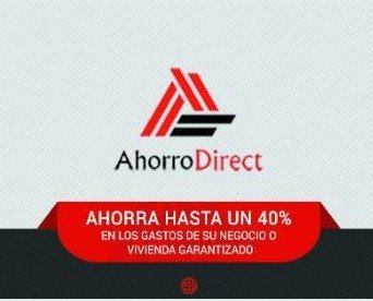 Ahorrodirect. Logo de empresa