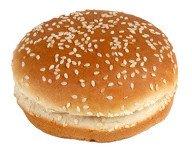 Pan de hamburguesa. Pan de sésamo