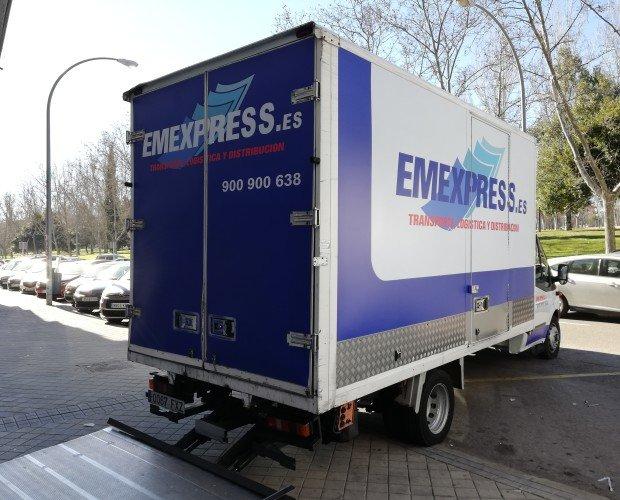 Rotulación de Vehículos.Rotulación de furgón comercial realizado con vinilo de impresión digital.Publicidad en movimiento de tu negocio las 24 horas del día.