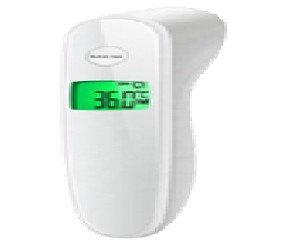 Termómetro infrarrojo. Termómetro infrarrojo sin contacto, para mayor seguridad e higiene, diseñado para medir la temperatura corporal. Rápido y preciso, en tan solo un segundo muestra la temperatura.