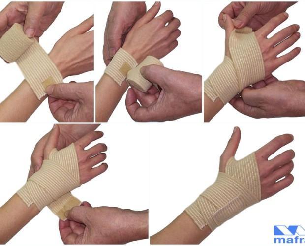 Productos de Ortopedia.Vendas elásticas de diferentes anchos y longitudes