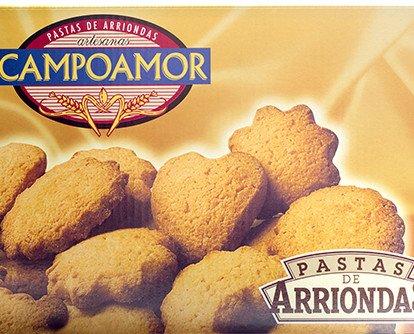 Pasta Campoamor. Hechas de modo artesanal