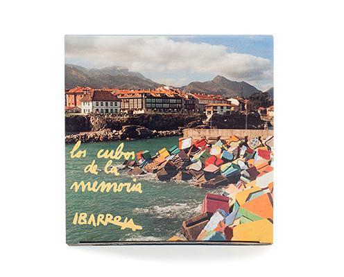 Galletas de avellana. Inspirados en los famosos Cubos de Ibarrola que pueden visitarse en la localidad asturiana de Llanes