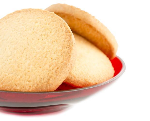 Deliciosas galletas. Galletas de mantequilla y almendra