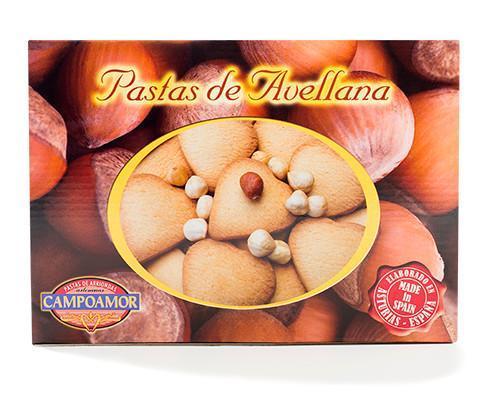 Pastas de avellana. Hechas con ingredientes de primera calidad