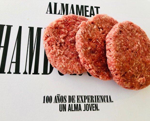 Hamburguesas. Ejemplo de hamburguesas congeladas.