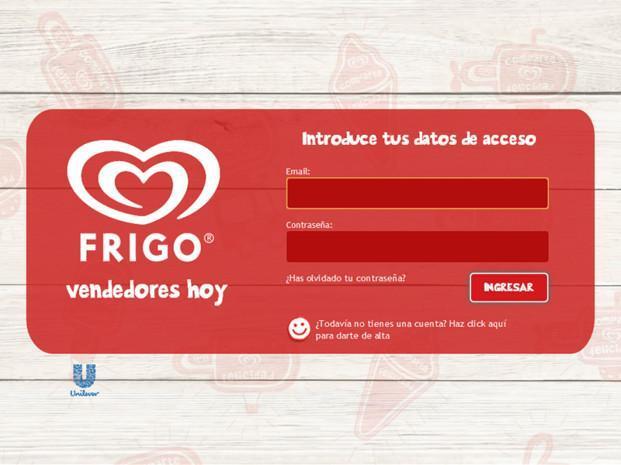 Portal FRIGO. Diseño y desarrollo web de webs corporativas