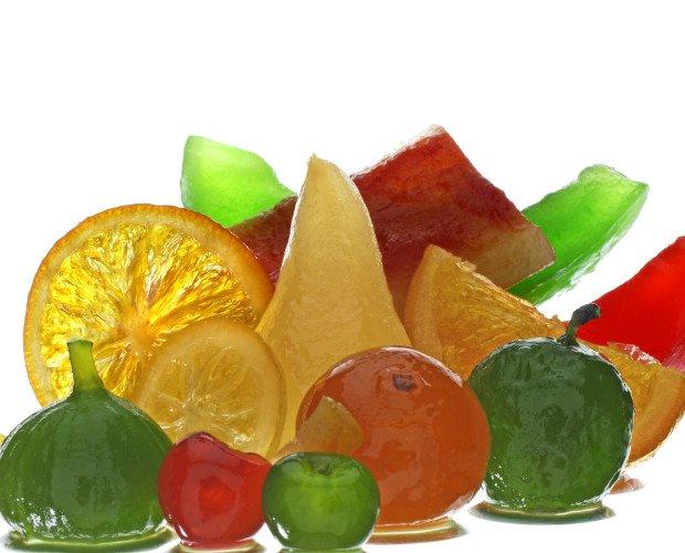 Conservas de Frutas.Frutas confitadas o en conserva.