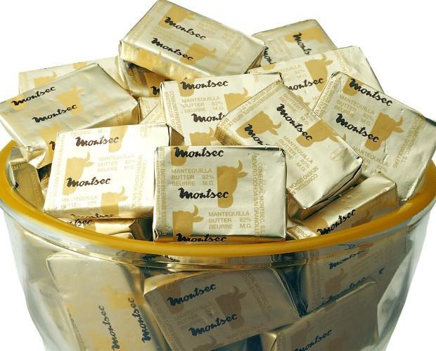 Mantequilla papel. Mantequilla de primera calidad