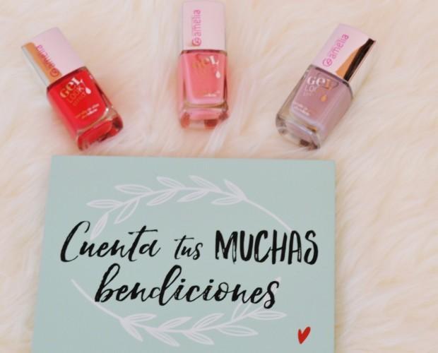Esmalte de uñas. Tonos claros