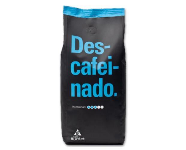 Café descafeinado. Café burdet