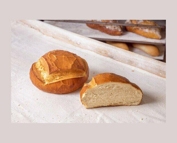 Redondo de Máquina. Pan de máquina, típico de Andalucía, en formato redondeado
