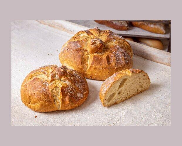 Pan de Tetilla. Pan originario de Galicia, tradicionalmente presentado con forma de tetilla