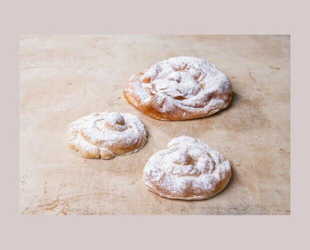 Ensaimadas Mini. Es un producto de repostería de gran tradición en Mallorca