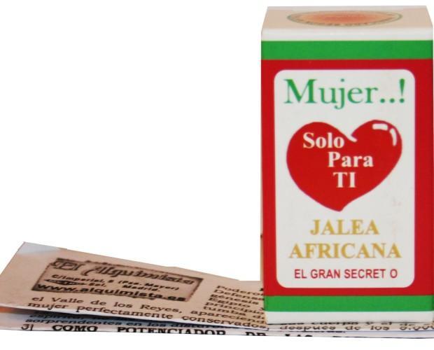 Jalea Africana. Todos nuestros productos son de altísima calidad