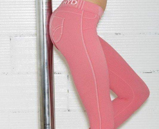 BASIC LEG SILHOUETTE. Legging modelo Basic Leg Silhouette Disponible en color Denim, Rosa y Jeans Y dos tallas Sin costuras y efecto push up 100%Made in Italy