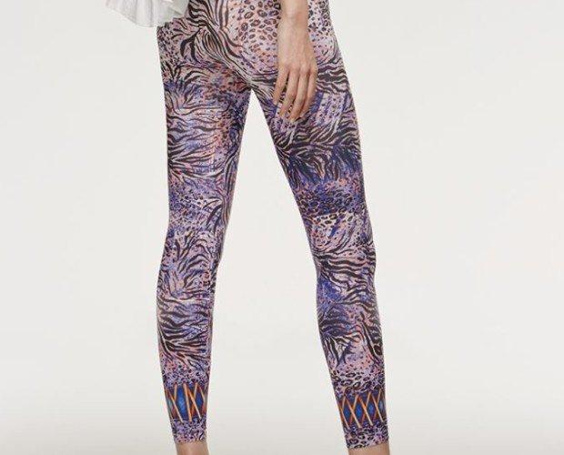 SKIN. Legging modelo Skin Sublimático Disponible en dos tallas 100% Made in Italy