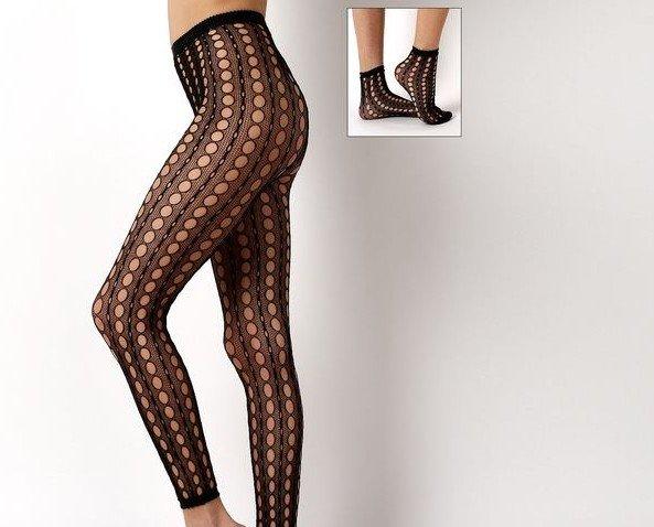SIDNEY. Legging con calcetín a conjunto Disponible en varios colores y tallas 2-3-4 100% Made in Italy