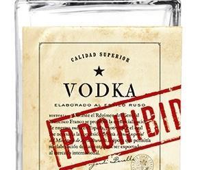 Vodka. Vodka prohibido