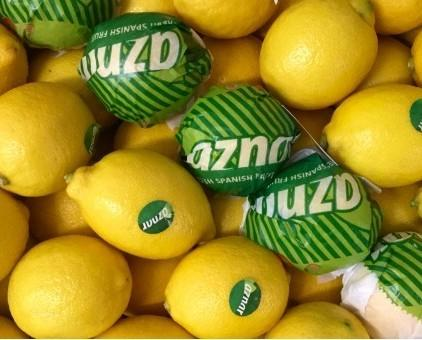 Limones.Cítrico rico en minerales