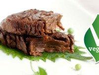 Tiras de carne vegetariana