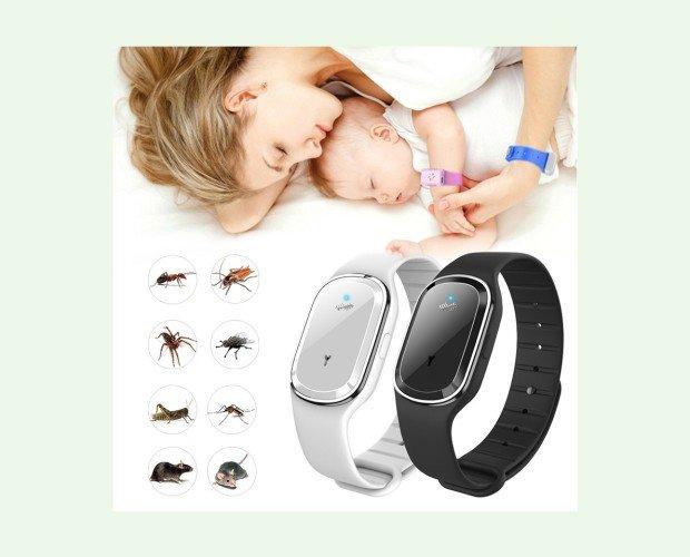 Repelente pulsera ultrasonido. Pulsera para niños y adultos