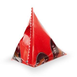 Azúcar piramidal. Envases de 5 gramos, paquetes de 10 kg