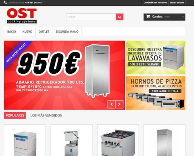 Tienda online. Proveedores de maquinaria para hostelería