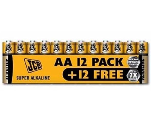 Baterías. Baterías AA. Paquete de 12