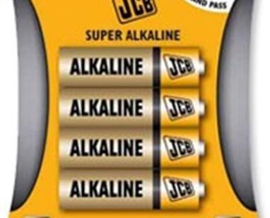 Batería alcalina. baterías alcalinas AA paquete de 4