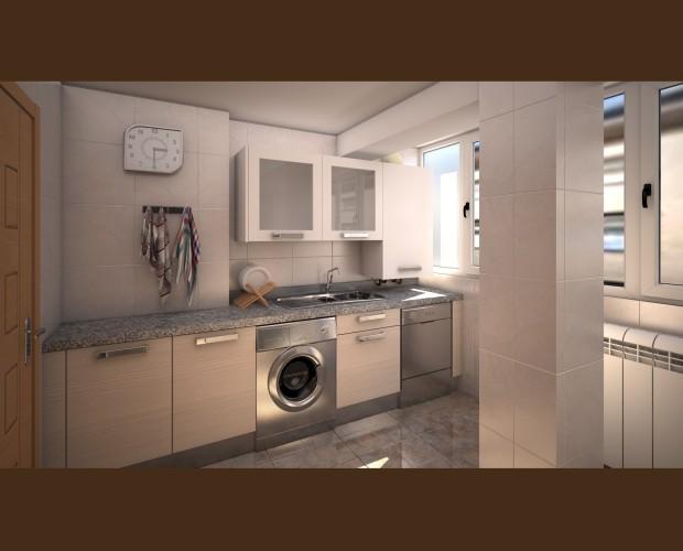 Proyectos únicos. Reforma de cocina de una vivienda