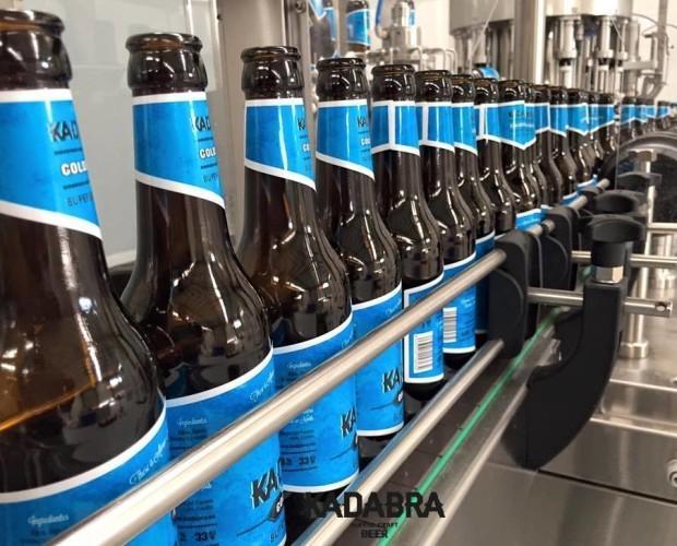 Embotellado de cervezas. Producción a tope
