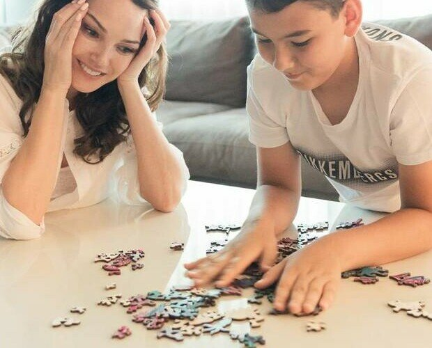 Puzzles.Active Puzzles - Puzzles de madera originales