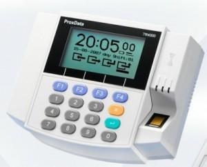 Relojes. Reloj de tiempo en línea con lector de RFID