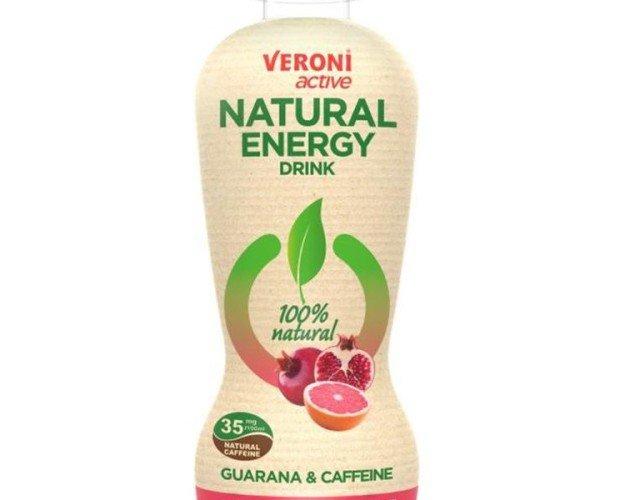 energy guarana. Veroni active Natural Energy Drink es una bebida energética con ingredientes naturales.