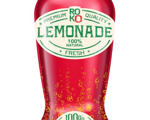 limonada  arandanos. bebida de limón con arándanos