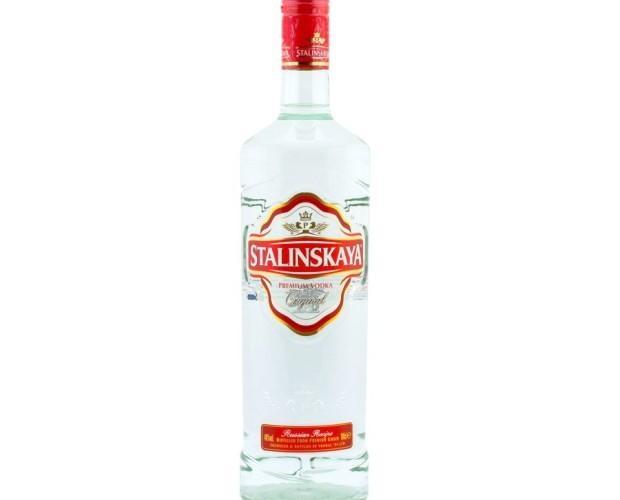 Vodka Stalinskaya Rojo 1l. Vodka rojo