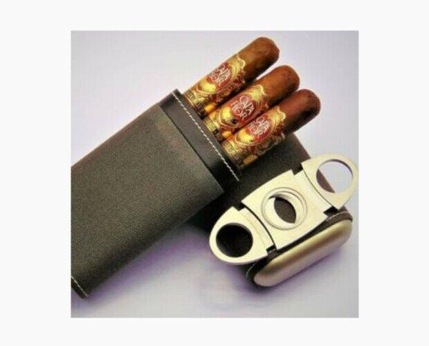 Capa Flor Premium. Este tabaco resalta por el sabor de pimienta