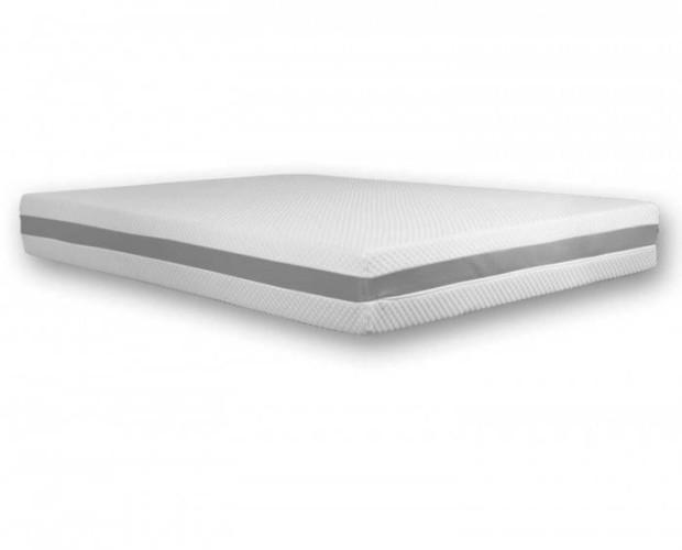 Colchón Viscoelástico Premium Plus. Tejido transpirable y elástico que facilita los movimientos en el descanso.